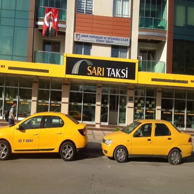 sarı renk araba görmek