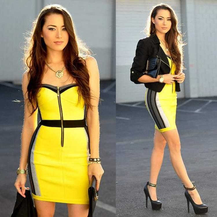 Rüyada Sarı Renk Elbise Giymek