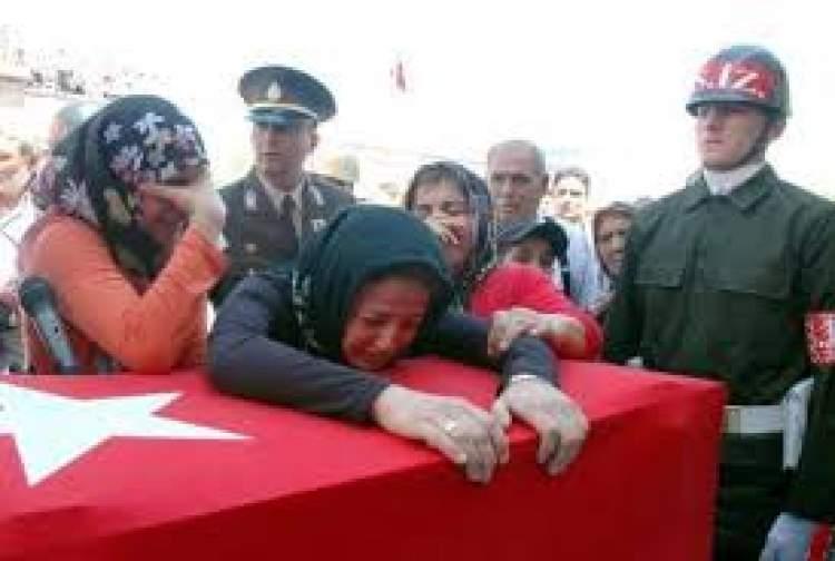 şehit asker cenazesi görmek