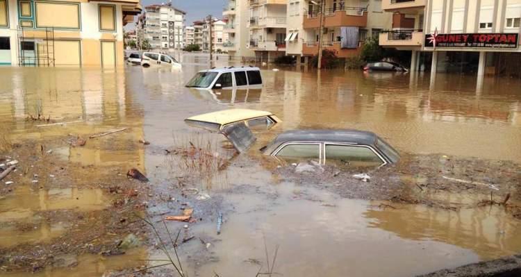 Rüyada Sel Baskını Görmek