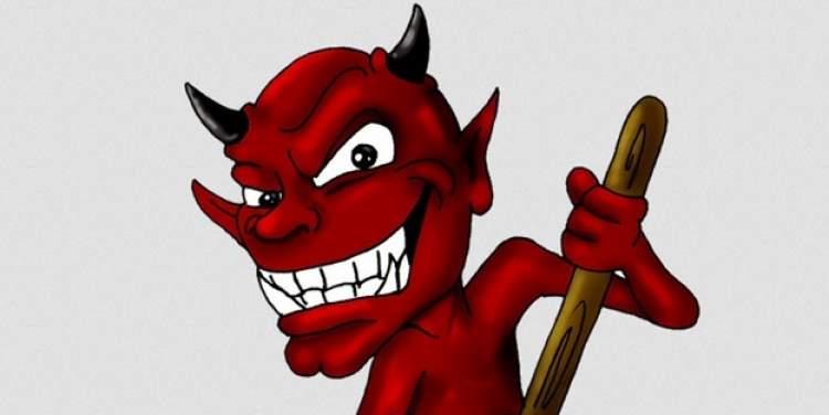 şeytan dövmek