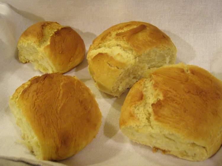 sıcak ekmek almak