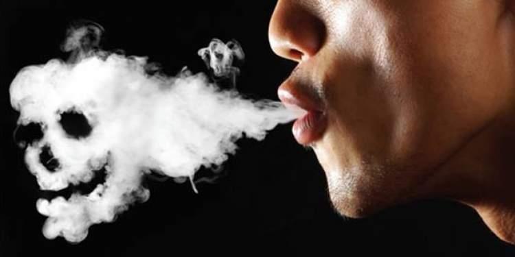 sigara içen birini görmek
