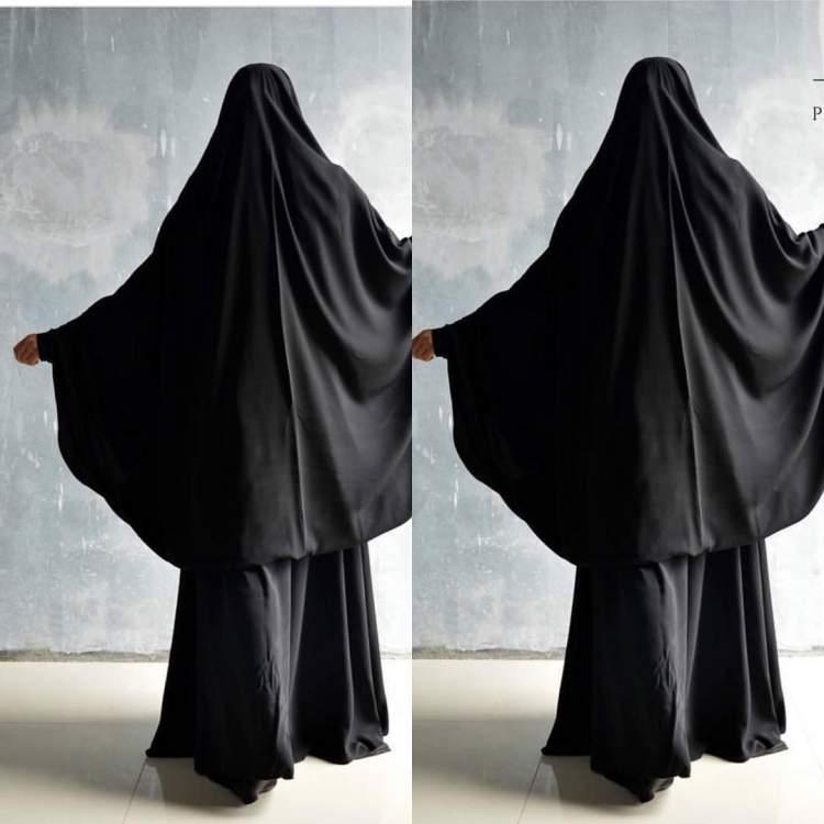 siyah cilbab giymek