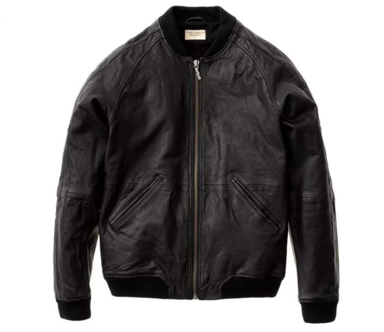 siyah deri ceket görmek