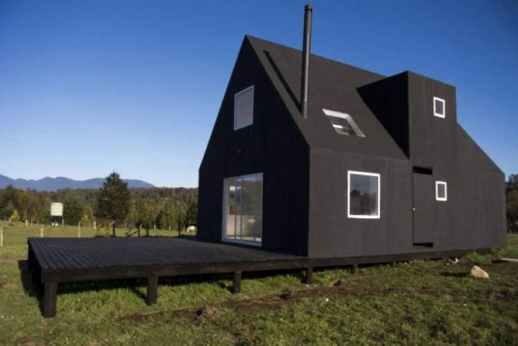 siyah ev görmek