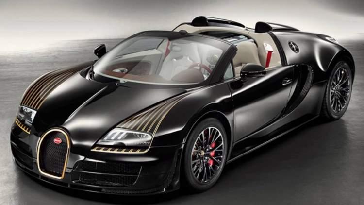 siyah lüks araba görmek