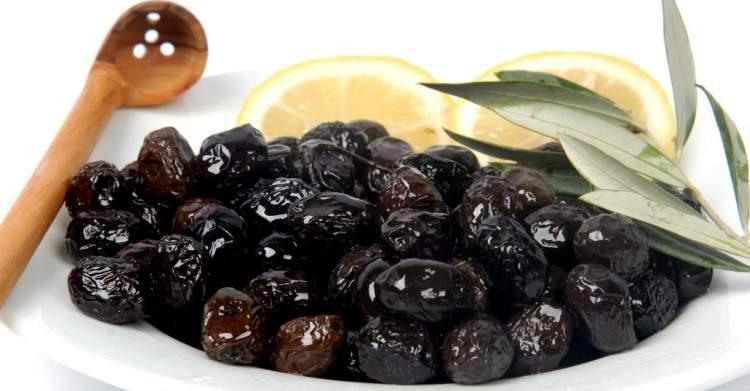 siyah zeytin yemek