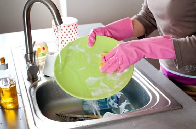 tabak yıkamak