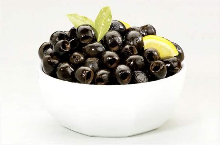 tabakta siyah zeytin görmek