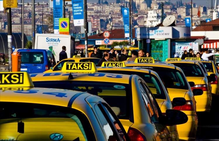 taksiye para vermek