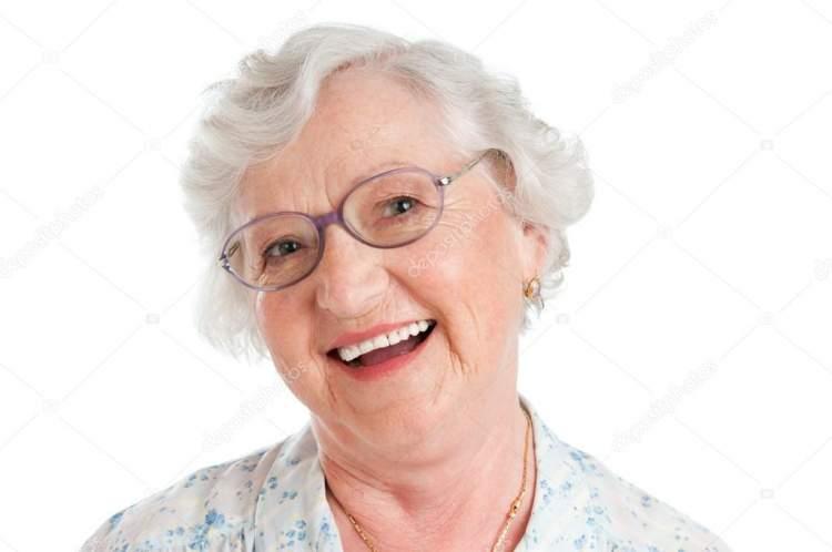 tanıdık yaşlı kadın görmek