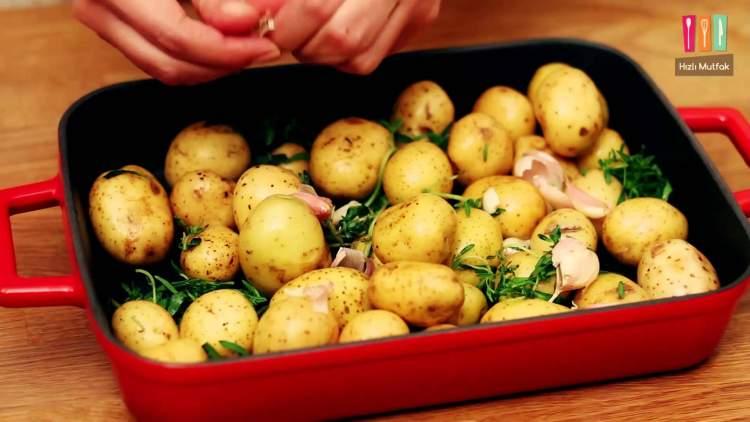 taze patates görmek