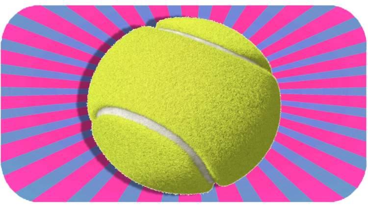 tenis topu görmek