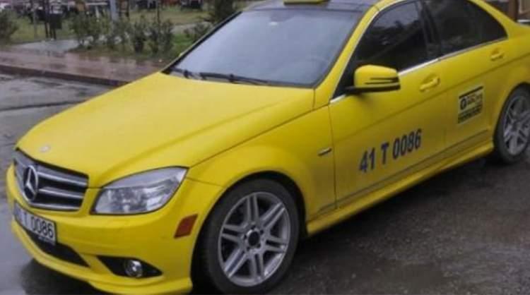 ticari taksi görmek