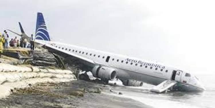 uçağın düşmesi