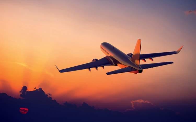 uçağın havalandığını görmek