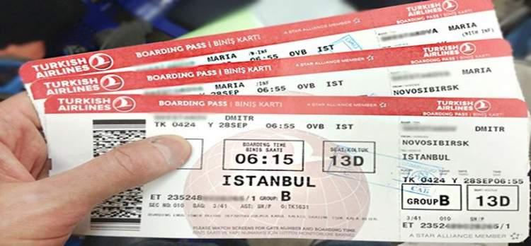 uçak bileti almak