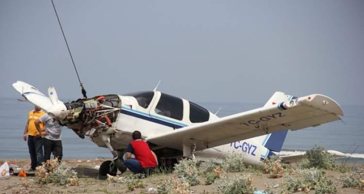 uçak düştüğünü görmek