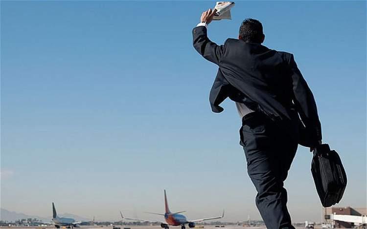 uçak kaçırdığını görmek