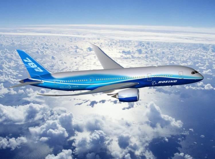 uçan uçak görmek