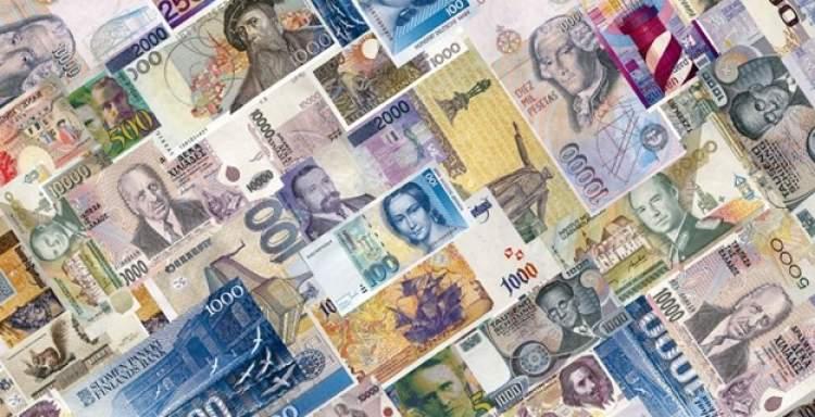 yabancı para görmek