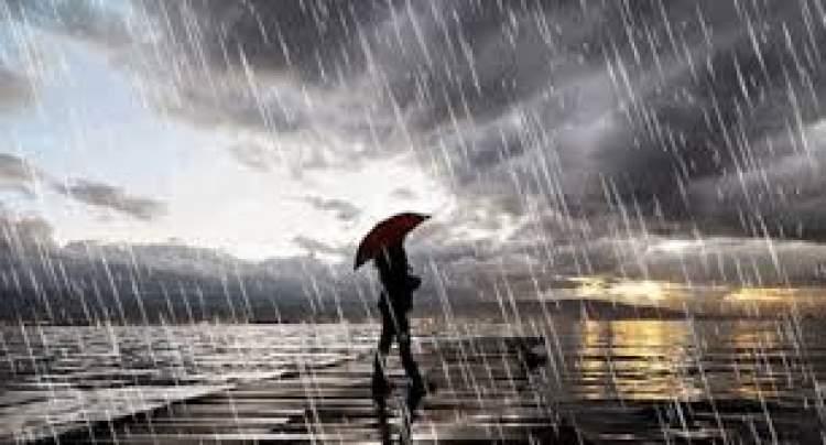yağmurlu hava görmek