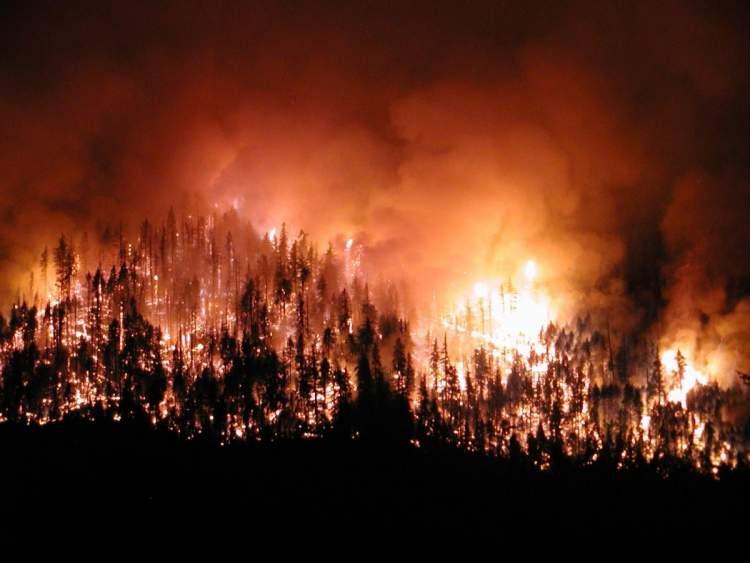 yangın duman görmek