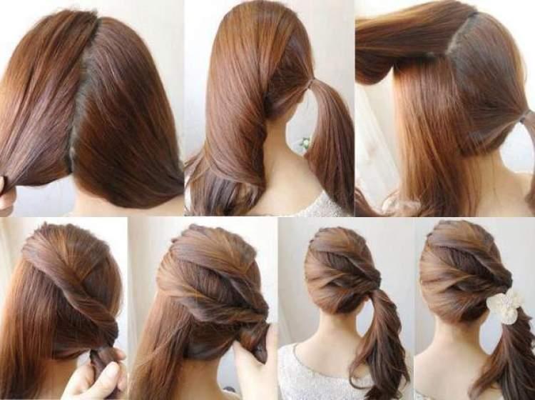 yerden saç toplamak