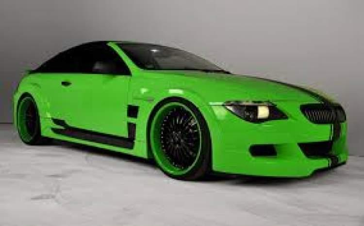 yeşil araba almak