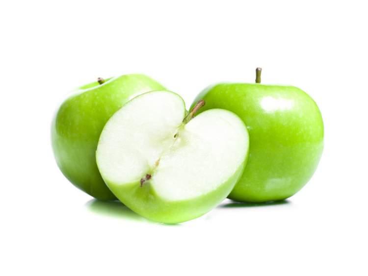 yeşil elma yemek