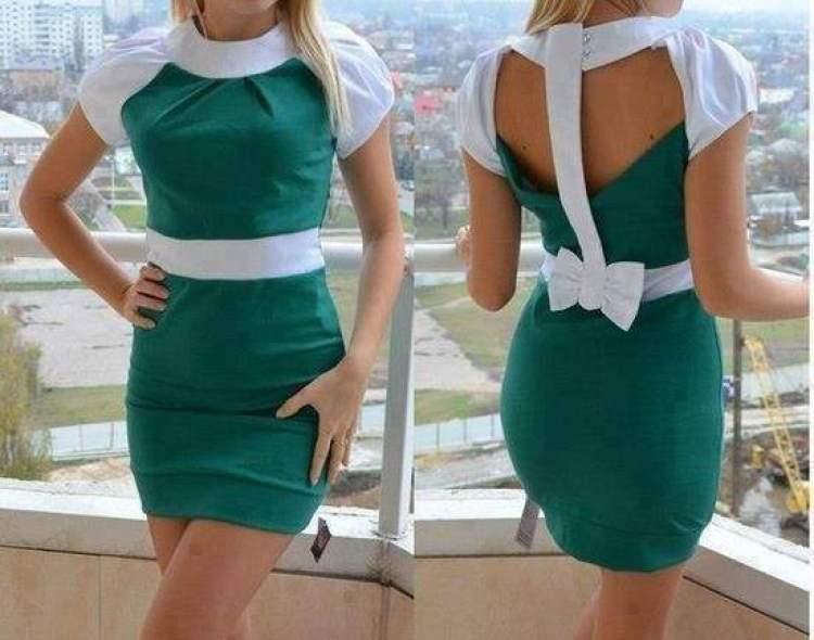 c416e40df55fb Rüyada Yeşil Ve Beyaz Elbise Giymek - ruyandagor.com