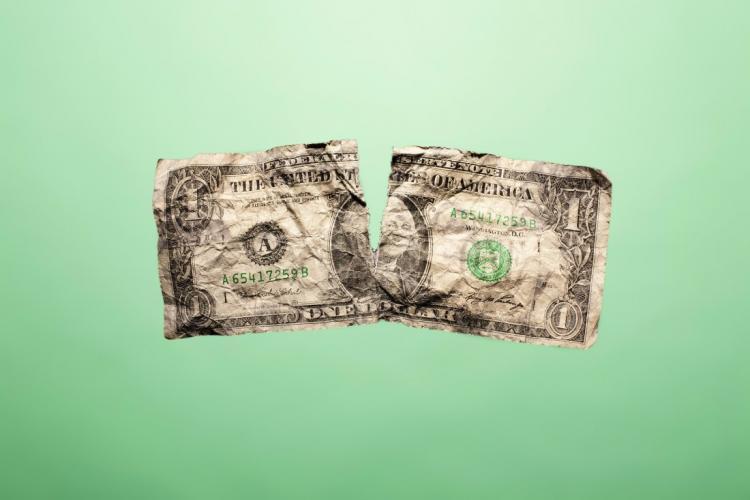 yırtık para vermek