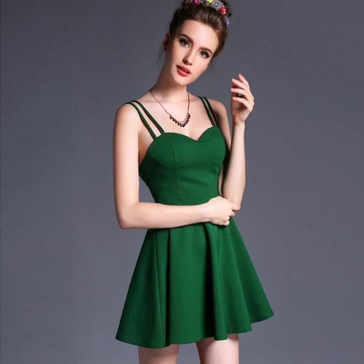 cde32c7f1847f Rüyada Beyaz Yeşil Elbise Giymek - ruyandagor.com