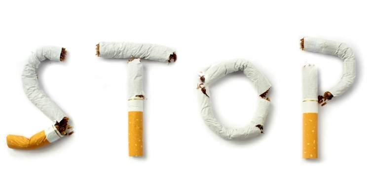 birinin sigara vermek