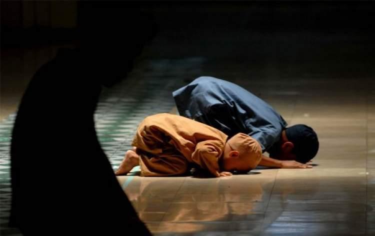 camide abdest almak namaz kılmak