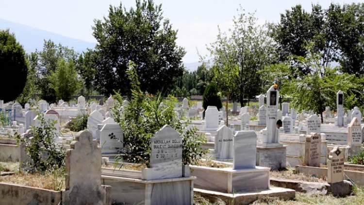 evin içinde açık mezar görmek