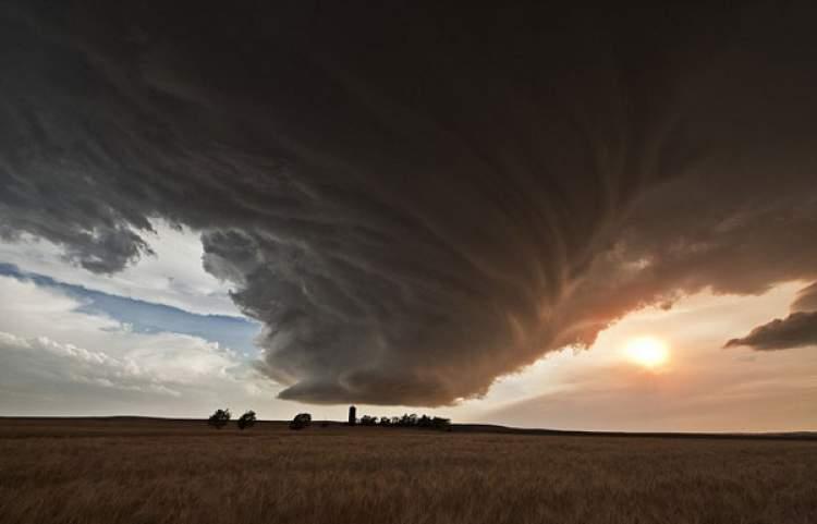 fırtına kasırga görmek
