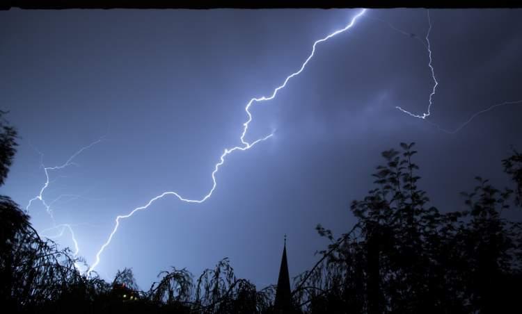 fırtınadan korkmak