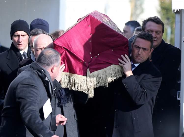ölmüş birinin tabutunu görmek