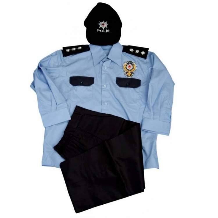polis üniforması giymek