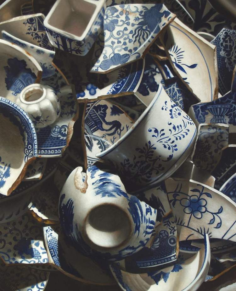porselen bardak kırılması
