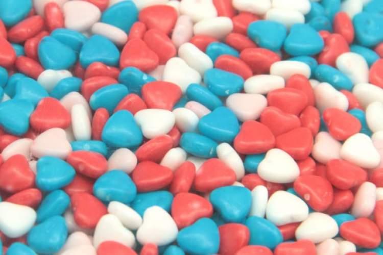 renk renk şeker görmek