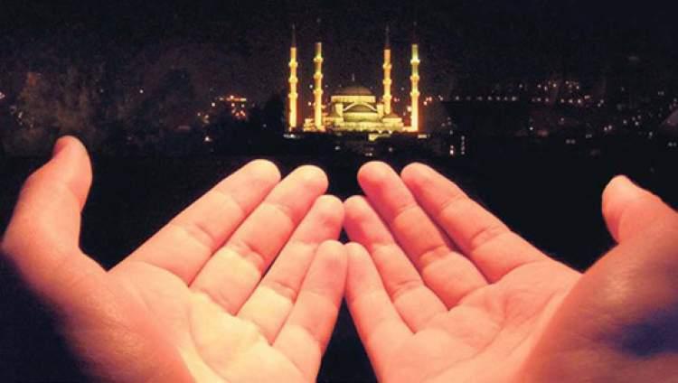 sevdiğine kavuşmak için dua etmek