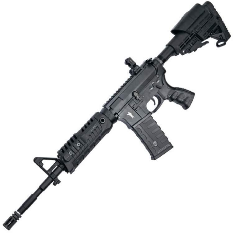uzun namlulu silahla ateş etmek