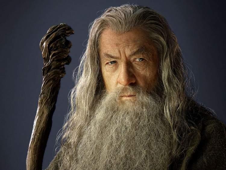 yaşlı sakallı adam görmek