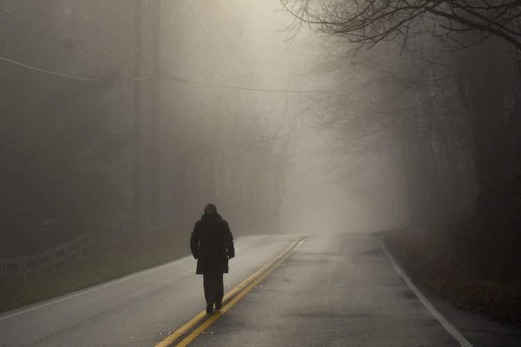 Rüyada Karanlık Yolda Yürümek