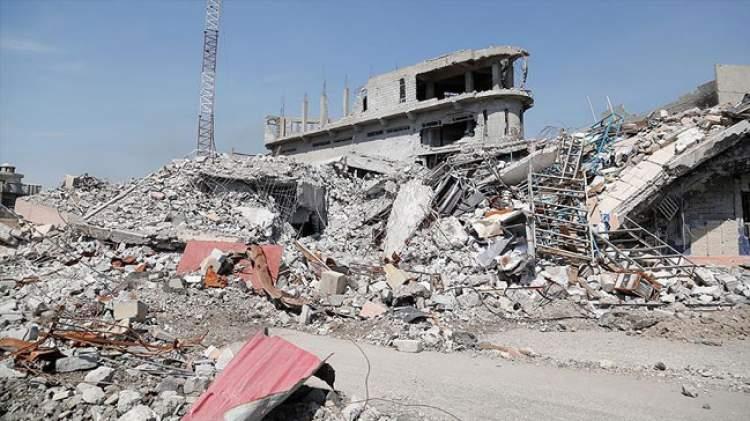 yıkılan ev görmek
