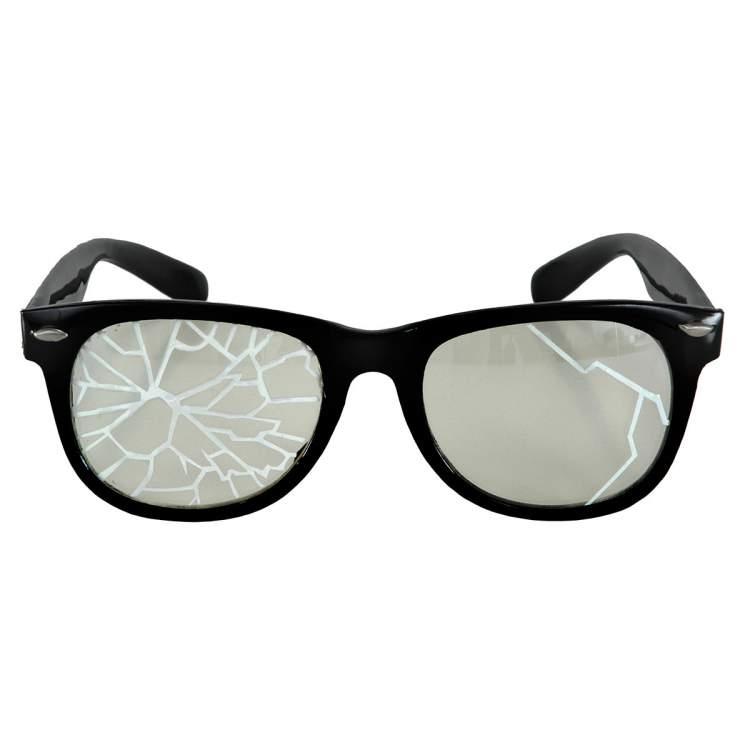 gözlük camının kırılması