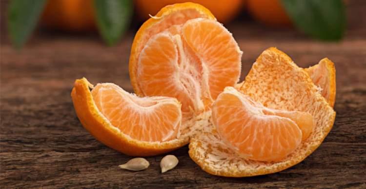 mandalina yemek